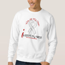 Bone Cancer I Support My Niece Sweatshirt