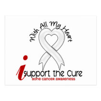 Bone Cancer I Support The Cure Postcard