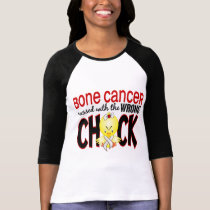 Bone Cancer Messed With The Wrong Chick T-Shirt