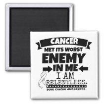 Bone Cancer Met Its Worst Enemy in Me Magnet