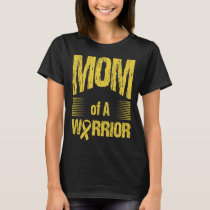Bone Cancer Mom Of Warrior Autism Awareness T-Shirt