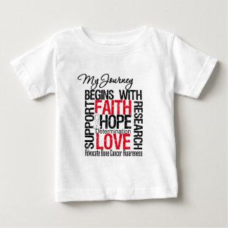 Bone Cancer My Journey Begins With FAITH Tshirt