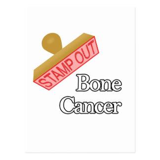 Bone Cancer Postcard