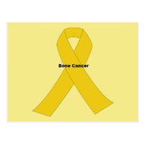 Bone Cancer Postcard