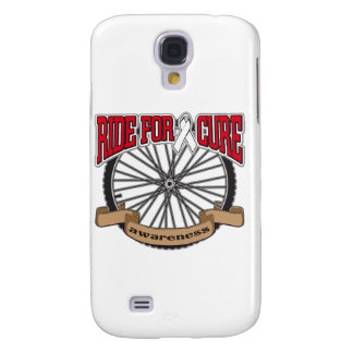 Bone Cancer Ride For Cure Galaxy S4 Cover