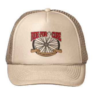 Bone Cancer Ride For Cure Mesh Hats