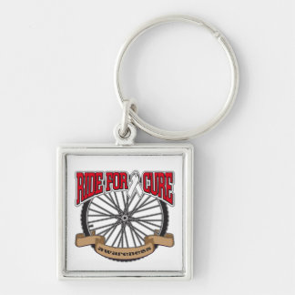 Bone Cancer Ride For Cure Key Chain