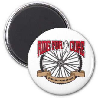 Bone Cancer Ride For Cure Refrigerator Magnet