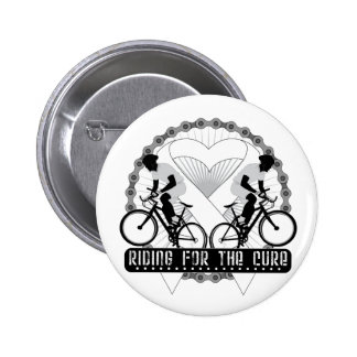 Bone Cancer Riding For The Cure Button