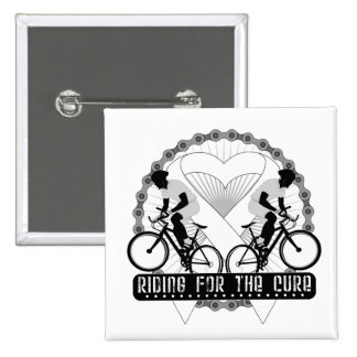 Bone Cancer Riding For The Cure Pins