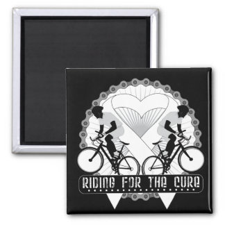 Bone Cancer Riding For The Cure Magnet