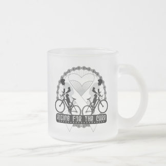 Bone Cancer Riding For The Cure Coffee Mug