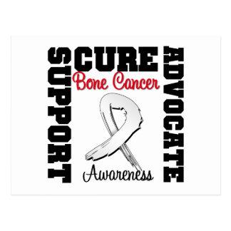 Bone Cancer Support Advocate Cure Postcard