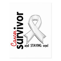 Bone Cancer Survivor 19 Postcard