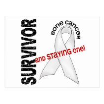 BONE CANCER Survivor 1 Postcard