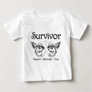 Bone Cancer Survivor Floral Deco Tshirt