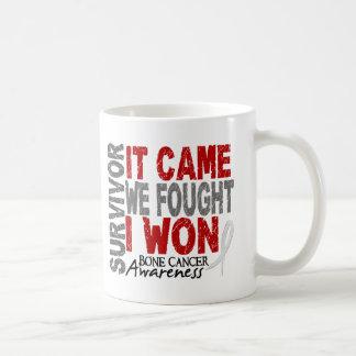 Bone Cancer Survivor It Came We Fought I Won Classic White Coffee Mug