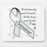 Bone Cancer Survivor Mousepads
