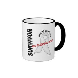 Bone Cancer Survivor Ringer Coffee Mug