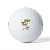 BONE CANCER Survivor Stand-Fight-Win Golf Balls