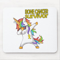 BONE CANCER Survivor Stand-Fight-Win Mouse Pad