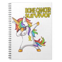 BONE CANCER Survivor Stand-Fight-Win Notebook