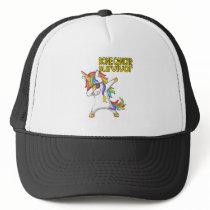 BONE CANCER Survivor Stand-Fight-Win Trucker Hat