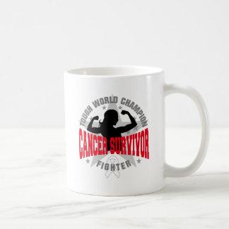 Bone Cancer Tough Survivor Classic White Coffee Mug