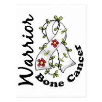 Bone Cancer Warrior 15 Postcard