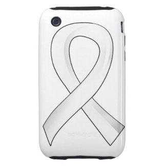 Bone Cancer White Ribbon 3 iPhone 3 Tough Cover
