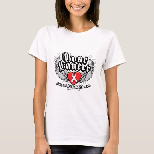 Bone Cancer Wings T-Shirt