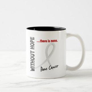 Bone Cancer Without Hope 1 Two-Tone Coffee Mug
