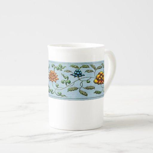 Bone China Mug - Asian Jewel