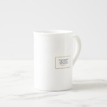 Bone China Tea Or Coffee Cup by Casefashion at Zazzle