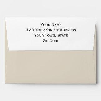 Bone Classic Colored Envelope