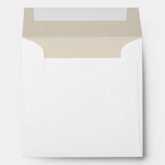 Bone Classic Colored Envelopes