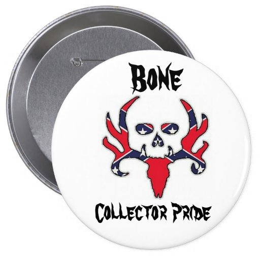 Bone collecttor pride buttons