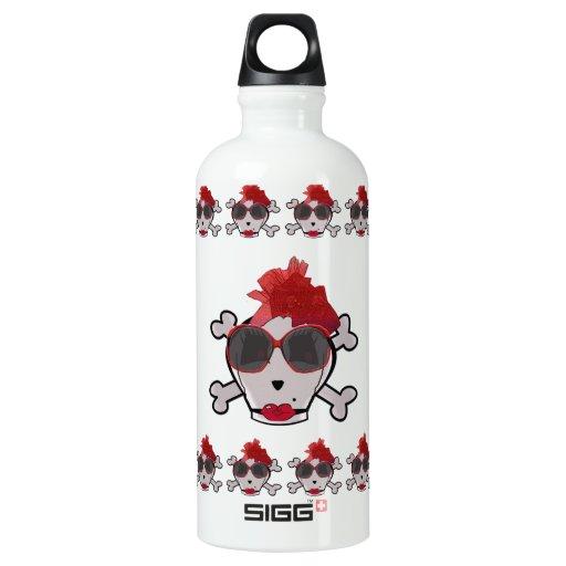 Bone Crawford Skull & Crossbones Sunglasses & Hat SIGG Traveler 0.6L Water Bottle