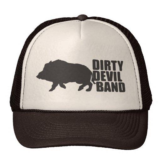 Boné Dirty Devil Band Gorras De Camionero