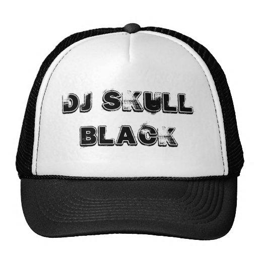 Boné DJ skull black Gorro De Camionero