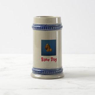 Bone Dog 18 Oz Beer Stein