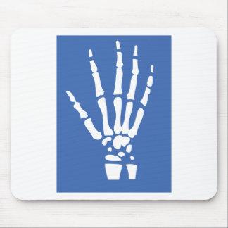 Bone Finger hand Mouse Pad