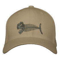 Bone Fish Hat