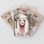 Bone Goddess Playing Cards