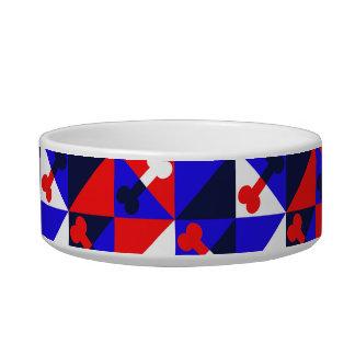 Bone graphic pattern bowl