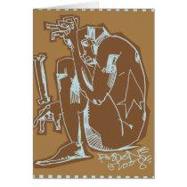 artsprojekt, bone greeting card, jim, mahfood, food, one, 40oz, comics, clerks, grrl scouts, colt 45, stupid, page, filler, man, live art, live, art, z-trip, murs, felt, true, tales, underground, hip, hop, sarah, silverman, program, frenchpulp, mahf, earthworms, comic, books., jim mahfood, jim mahfood skateboards, food one skateboards, 40 oz comics skateboards, food one, 40 oz comics, Cartão com design gráfico personalizado