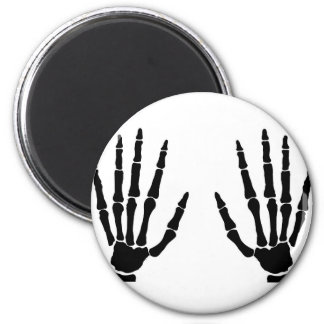 Bone Hands Isolated Magnet