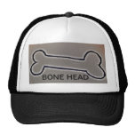 BONE HEAD CAP TRUCKER HAT