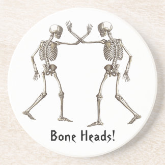 Bone Heads Halloween Coaster