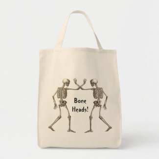 Bone Heads Skeletons bag